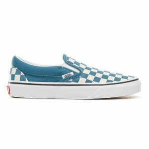 Vans Color Theory Checkerboard Classic Slip On Topanky - Panske Biele | 83292-297 SK